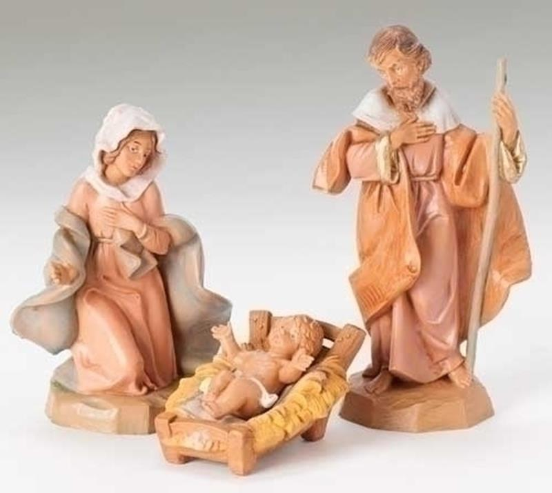 "5"" Classic Holy Family,71503"
