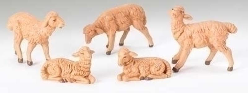 "5"" Brown Sheep 5pc. Set,52539"