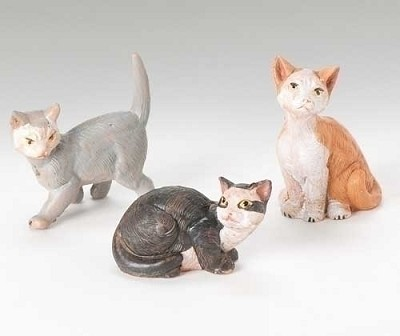 "5"" Cats 3pc. Set,51518"