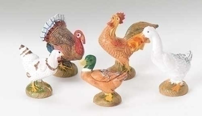 "5"" Bethlehem Birds 5pc. Set,51516"