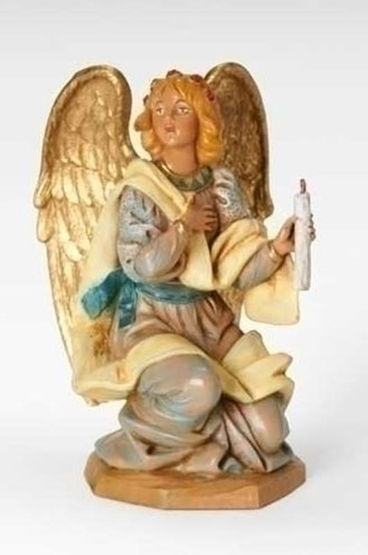 "7.5"" Kneeling Angel,72818"