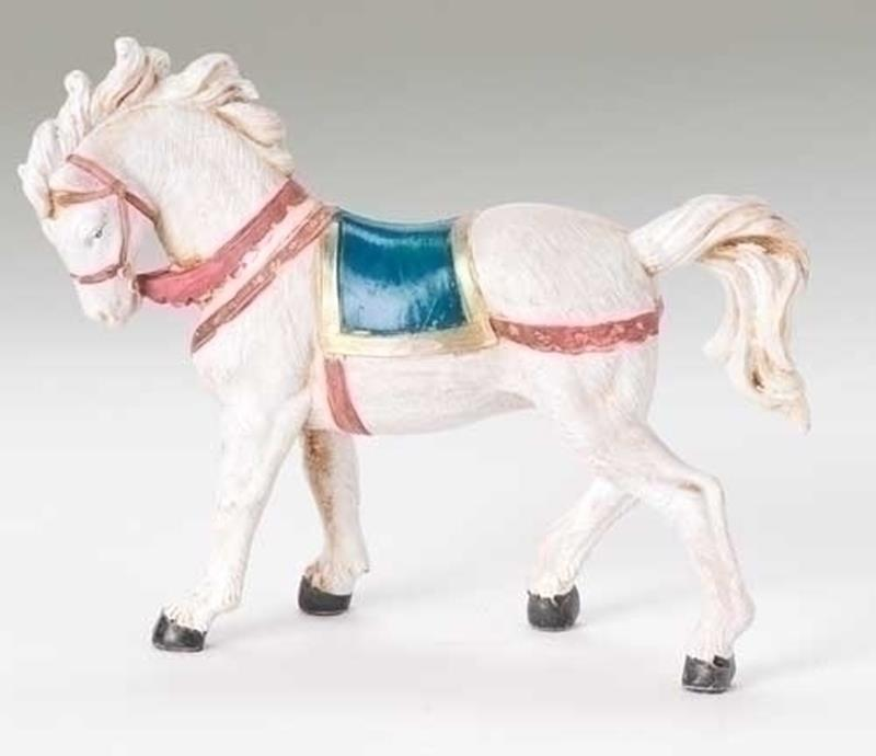 "5"" Horse w/ Saddle Blanket,72524"