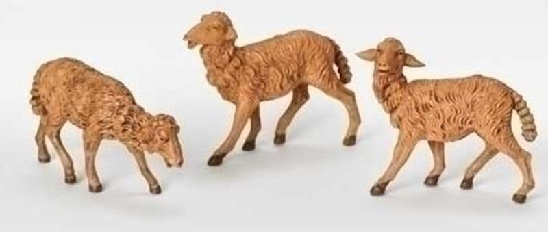 "7.5"" Brown Sheep 3pc. Set,52839"