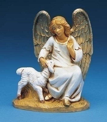 "5"" Olivia, Angel w/ Lamb,52520"