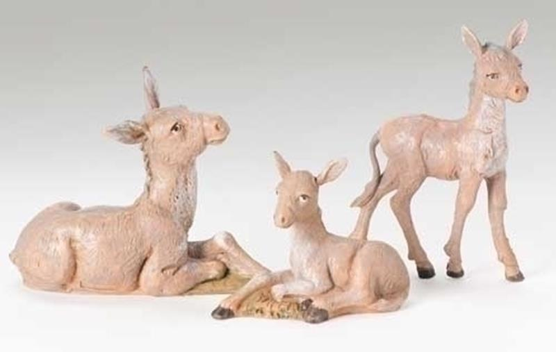 "5"" Donkey Family 3pc. Set,51533"