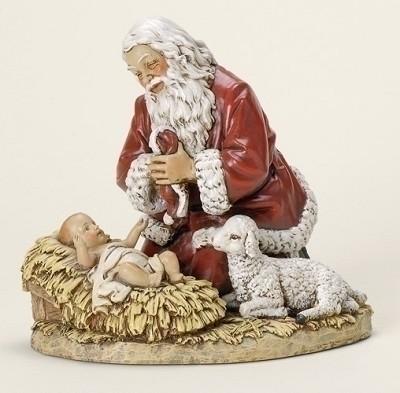 Kneeling Santa Fig.,26781