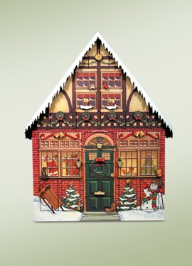 Christmas House Advent Calendar,AC01