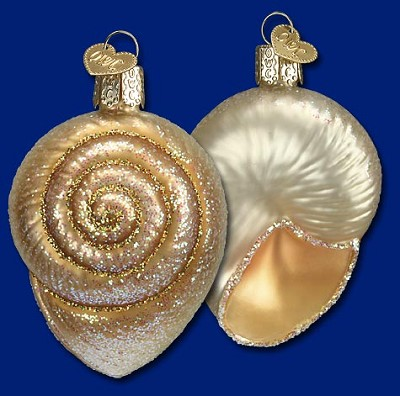 Spiral Shell Ornament,12289