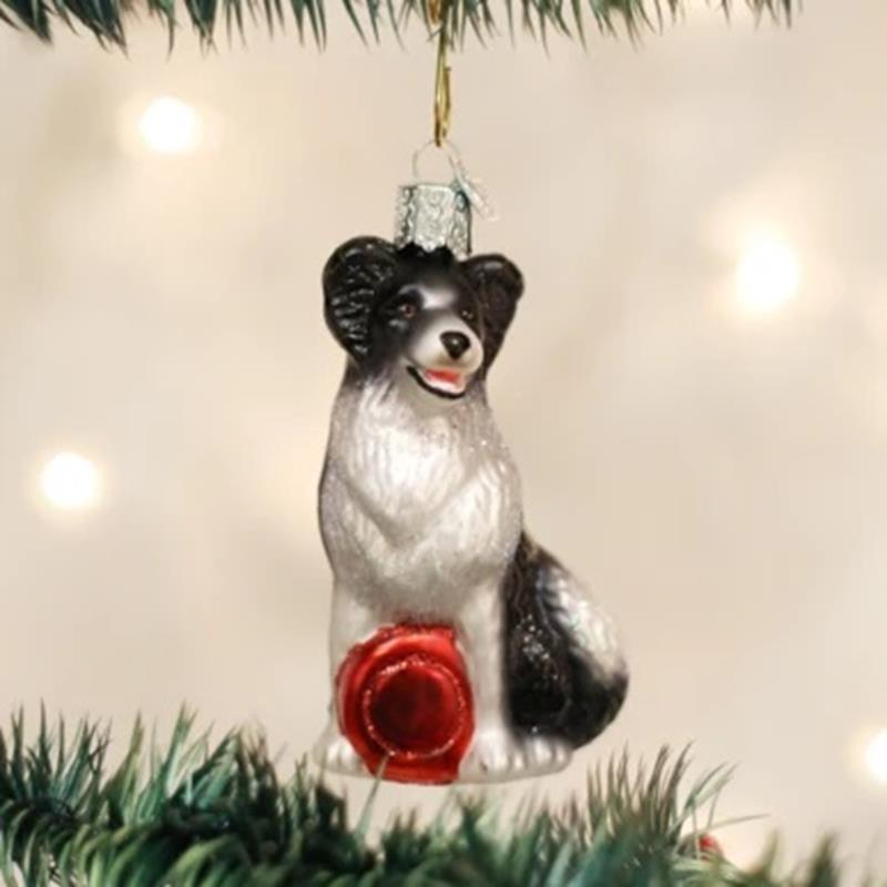 Border Collie  Ornament,12302