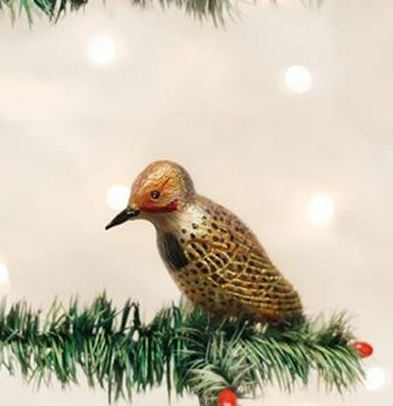 Northern Flicker Ornament,18076