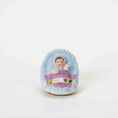 GUG Baby in Cradle Brunette,510459