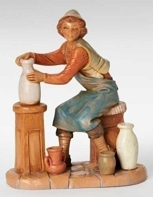 "7.5"" Andrew, the Potter,52823"