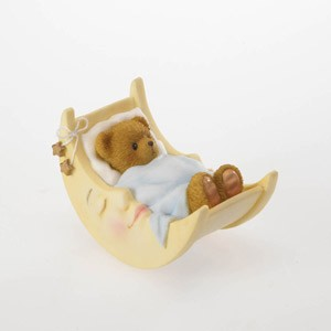 Baby Bear in Moon Cradle CHRT,4020582