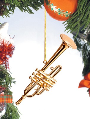 Bflat Trumpet Ornament,OGTRB10