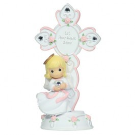 Birthstone Angel Cross April,104425