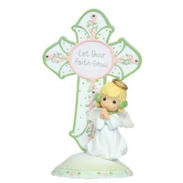 Birthstone Angel Cross May,104426
