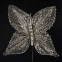 "15"" Gold/Silver Butterfly Spray,C5106"