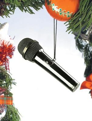 Black Microphone Orn.,OMFONB
