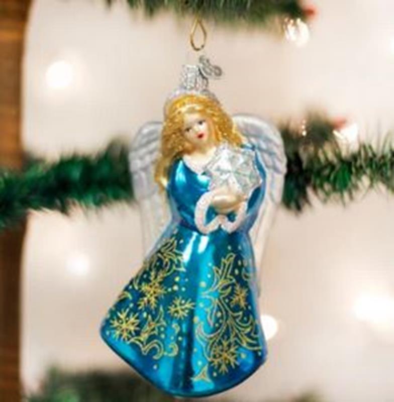 Glistening Snowflake Angel,10202