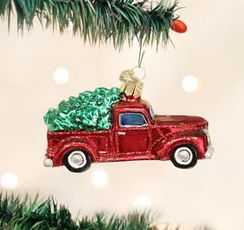 Old Truck w/ Tree,46029
