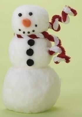 Snowman w/Scarf Figure,34744