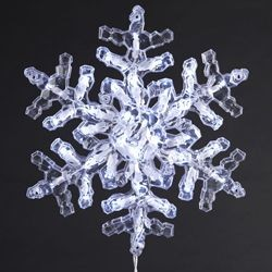Crystal Snowflake LED Set - 35 lite,UL1183