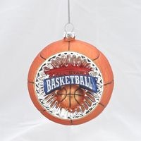 Concave Reflector Basketball Ornament,J1307