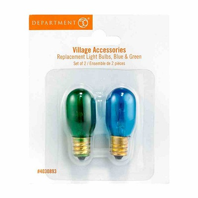 CP Replacement Light Bulbs Blue/Green,4030893