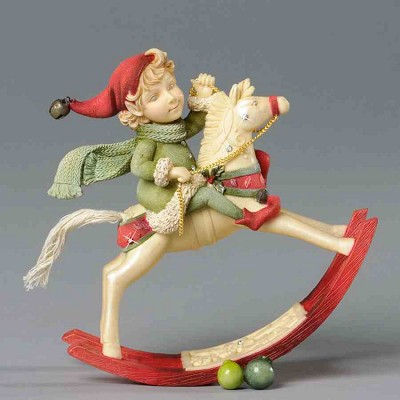 Elf on Rocking Horse,4034459