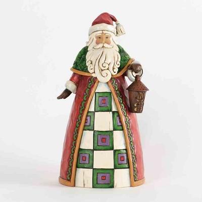 Santa Holding Lantern,4034362