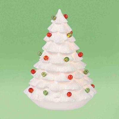 Snowy Lit Tree,4031809