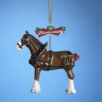 Budweiser Clydesdale Horse Orn,AB2121