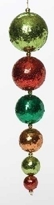"15"" Christmas Ball Icicle,33633"