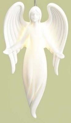 "3.75"" Tiny Angel LED Ornament,33779"