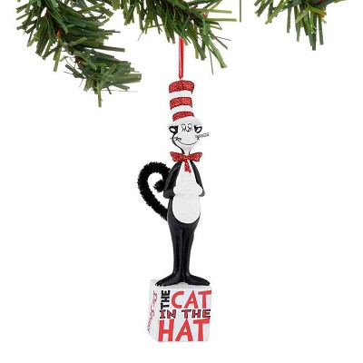 Seuss Cat on Block Ornament,4038929