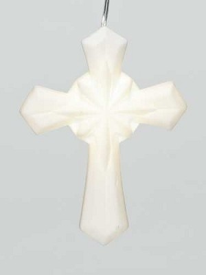 LED Porcelain Cross,32447