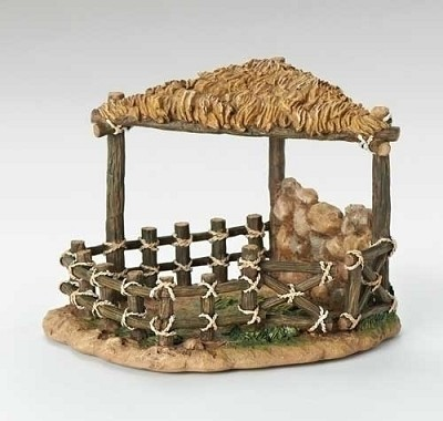 "7.5"" Sheep Shelter (Retired),50844"