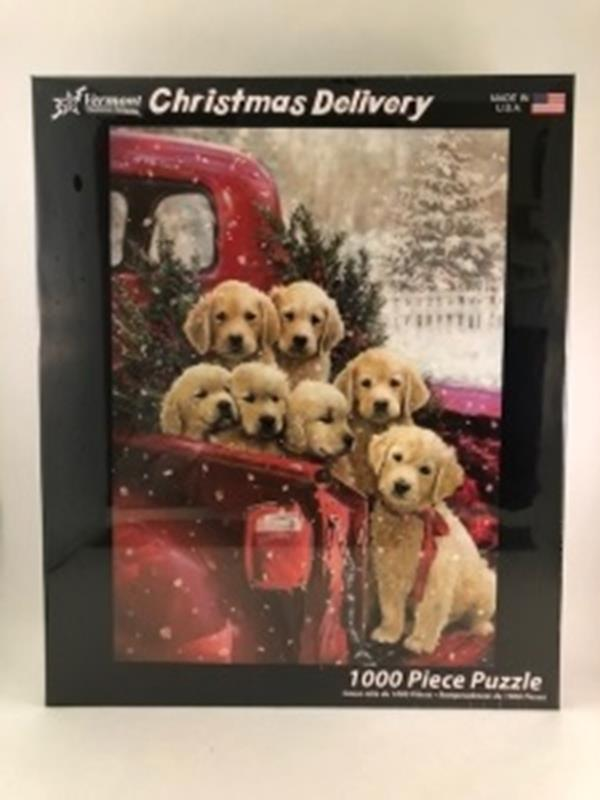 Christmas Delivery Jigsaw Puzzle 1000 Piece,VC1125