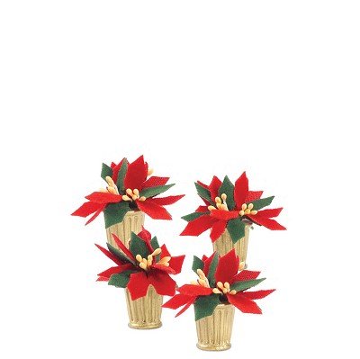 CP Potted Poinsettias, St/4,802460