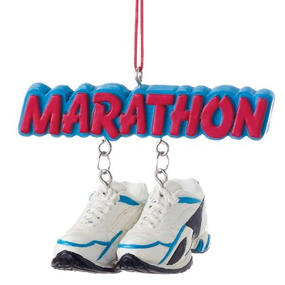 Marathon Runner Ornament,963586