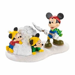 Mickey In Snow Fort,4032207
